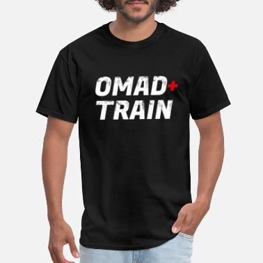 OMAD + Train Intermittent Fasting - Men's T-Shirt