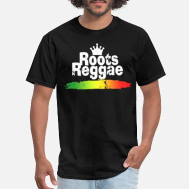 Dancehall Clothing Roots Reggae Jah Rasta Rock Irie Ska Rocksteady Da - Men's T-Shirt