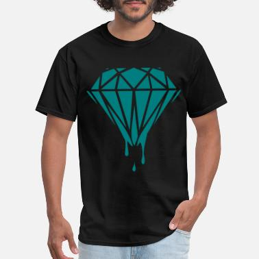 Diamond dripping diamond - Men's T-Shirt