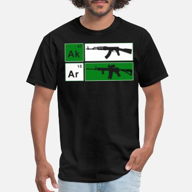 Ak47 AK47 AR15 Riffle Adult s NRA Cool Gun Defense Tee - Men's T-Shirt