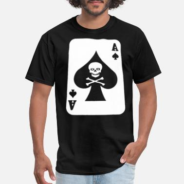 Ace Of Spades Quotes NEW DICKIES DEATH CARD ACE OF SPADES GARAGE MECHAN - Men's T-Shirt