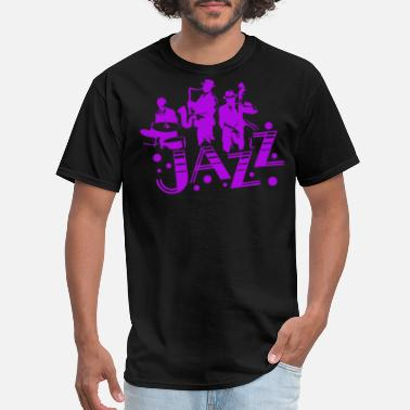 Jazz Jazz Soul Blues Music Musician Rhythm Gift - Men's T-Shirt