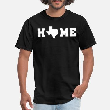 Home Texas Map Texas Pride Texan Lonestar State Te - Men's T-Shirt
