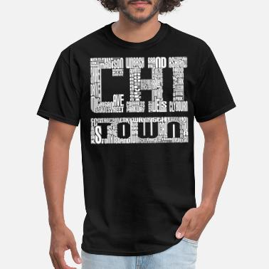 Town Chi Town Streets Chicago Hoody Clothing Apparel - Men's T-Shirt