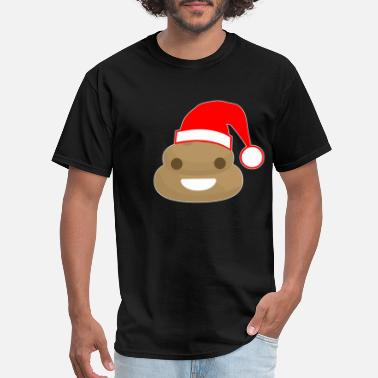 Poop Wear Poop Santa - Men's T-Shirt