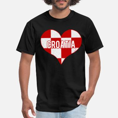 I Love Croatia I Love Croatia Jersey - Men's T-Shirt