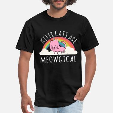 Magic Cat Cats Are Magical - Men's T-Shirt
