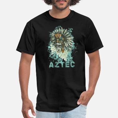 Aztec-skull Aztec Inspired Skull - Men's T-Shirt