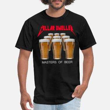 Network Cellar Dweller Masters of Beer - Men's T-Shirt