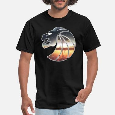 Artistic Lion Seven Lions - Men's T-Shirt