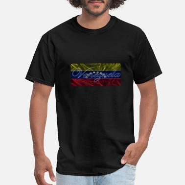 Flag Of Venezuela Venezuela - Men's T-Shirt