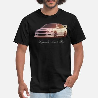 Evo Mitsubishi Evolution - Men's T-Shirt
