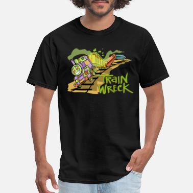 Train Wreck TRAINWRECK - Men's T-Shirt