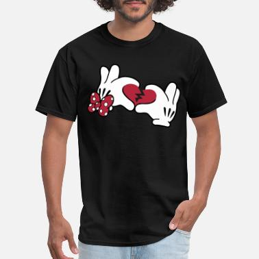 Mickey Broken Heart 2 - Men's T-Shirt