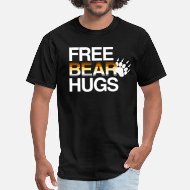 2e892b44 Gay Bear Pride LGBT Free Bear Hugs Gay Bear Pride - Men's. Men's T-Shirt