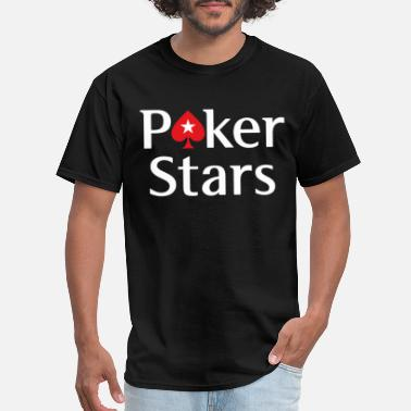 Full Tilt Poker POKERSTARS EPT limited quantity POKER gambling tou - Men's T-Shirt