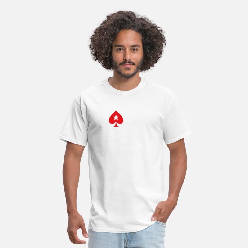 e8ddb20a POKERSTARS EPT limited quantity POKER gambling tou Men's T-Shirt |  Spreadshirt
