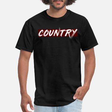 Country Abbreviation COUNTRY - Men's T-Shirt