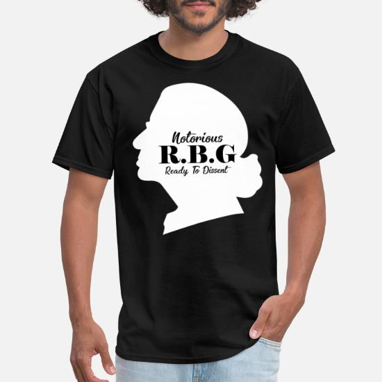 0198e3d5a Notorious RBG, Ready to Dissent, Ruth Bader Men's T-Shirt | Spreadshirt
