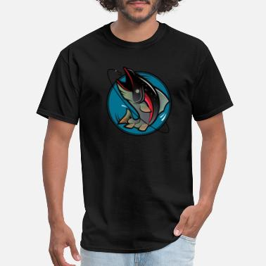 Gif Ideas Fishing design, gif idea for sport - Men's T-Shirt