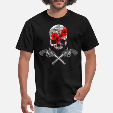 Skull And Guns Skull and guns - Men's T-Shirt