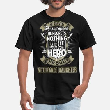 Army Daughter veteran daughter - Men's T-Shirt