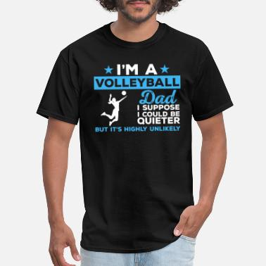 Volleyball Dad Volleyball Dad - Men's T-Shirt