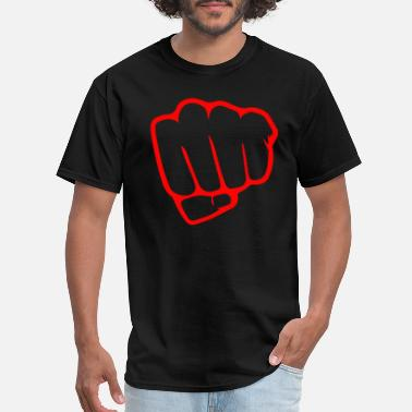 Punch punch me - Men's T-Shirt
