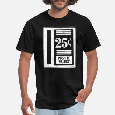 Arcade Sayings Retro Gamer Gift Classic Arcade Coin-Op 25 Cent - Men's T-Shirt