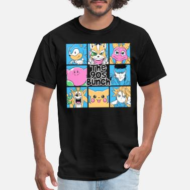 the 90s bunch gamer t-shirt - childhood collection - Men's T-Shirt