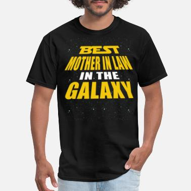Mother In Law Best Mother In Law In The Galaxy - Men's T-Shirt