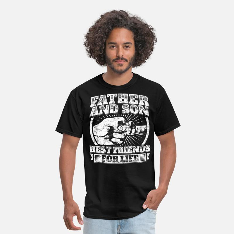 f5736a8e Son T-Shirts - Father And Son Matching Gift Family Dad Fist Bump - Men's