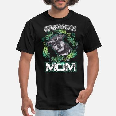 Schnoodle Schnoodle Shirt - Love Schnoodle Mom Tee Shirt - Men's T-Shirt