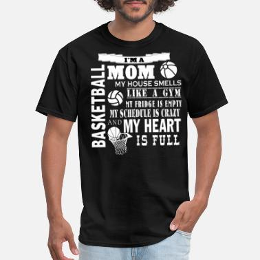 Proud Gym Mom Proud To Be A Basketball Mom T Shirt - Men's T-Shirt
