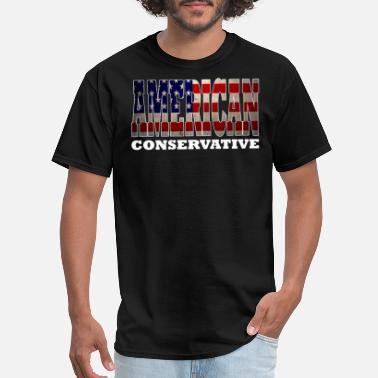 Drink American American Drinking Design American Conservative Design s - Men's T-Shirt