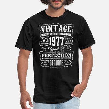 Vintage 1977 Aged To Perfection Vintage Aged to Perfection 1977 Gift Idea T-shirt - Men's T-Shirt