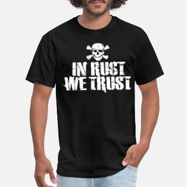 Hot Rod Cadillac In rust we trust rod hot t shirts - Men's T-Shirt