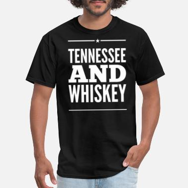American Whiskey Tennessee and Whiskey - Men's T-Shirt