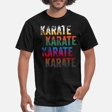 Funny Karate Funny Karate Design Karate Karate Karate Belt Colors Large Light - Men's T-Shirt