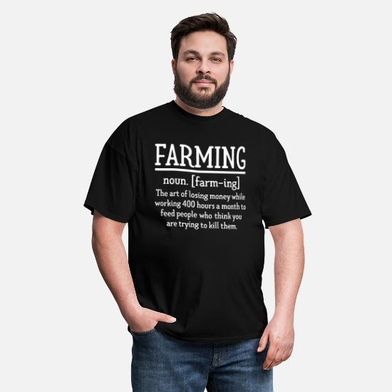 Farming Noun Comedy Farmer Joke Funny T-SHIRT Birthday gift present for him her
