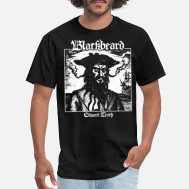 Blackbeard Blackbeard Edward Teach Pirates of the Caribbean P - Men's T-Shirt