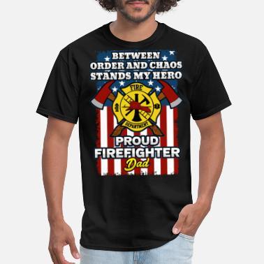Firefighter Backbone of America T-Shirt FD Fire And Rescue Hero Tee Shirt