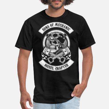 Funny Diesel Mechanic Sons of mechanic - Diesel chapter awesome t - shir - Men's T-Shirt