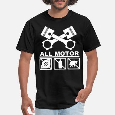 Piston JDM Type Pistons Cams Engine Motor m - Men's T-Shirt