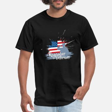 Veterans Day Remember Veterans Day - Remember the Veterans - Men's T-Shirt