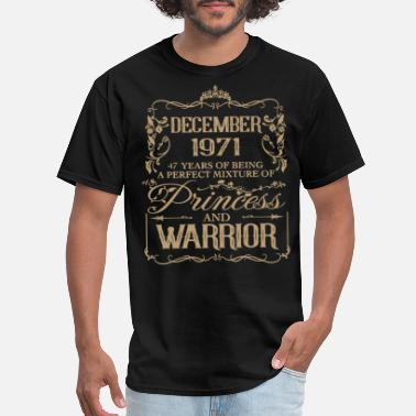 1971 August december 1971 47 years of being a perfect misture - Men's T-Shirt