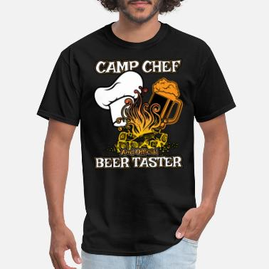 Cook Camp Chef Gift for Summer Campsite Cooks and Campers - Men's T-Shirt