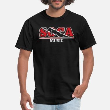 Caribana Soca Music design : Party Gift for Carnival Rum - Men's T-Shirt