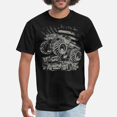 Usa Monster Truck USA - Men's T-Shirt
