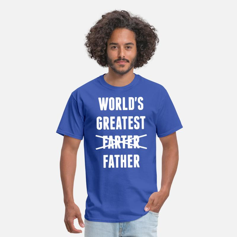 c2b98fa9 WORLDS GREATEST FARTER FATHER MENS HUMOROUS BEST D Men's T-Shirt |  Spreadshirt
